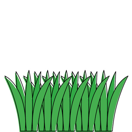 Grass cultivated icon