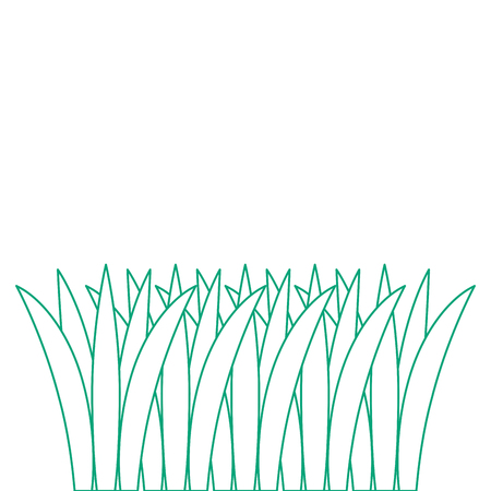 Het gras cultiveerde het geïsoleerde ontwerp van de pictogram vectorillustratie Stockfoto - 91936971