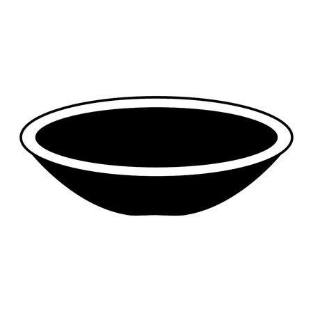 접시 멕시코 고전적인 아이콘 벡터 일러스트 레이 션 디자인 일러스트