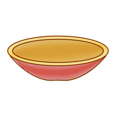 dish mexican classic icon vector illustration design  イラスト・ベクター素材