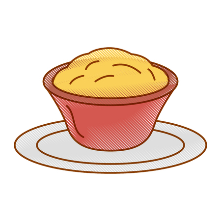delicious cheese sauce isolated icon vector illustration design