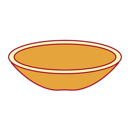 Dish mexican classic icon vector illustration design Çizim
