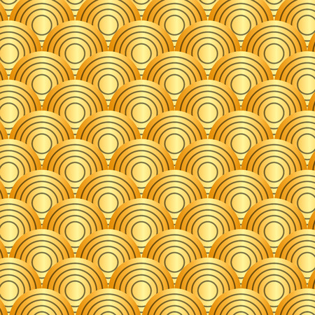 seamless rounded lines geometric patterns collection abstract vector illustration