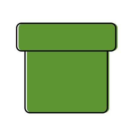 box closed icon image vector illustration design