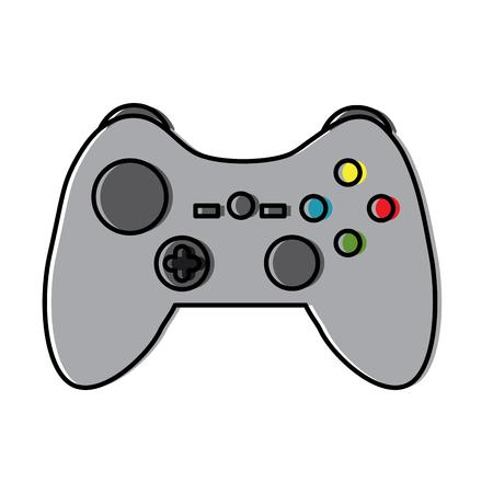 controller video game icon image vector illustration design Illustration