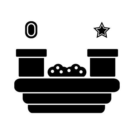 トンネル草の星宝石ビデオゲーム関連アイコン