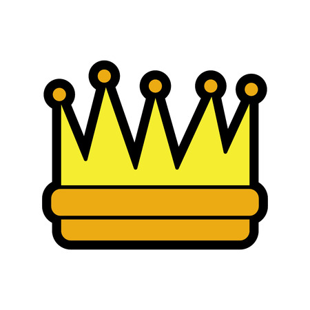 royal crown icon image vector illustration design Illustration