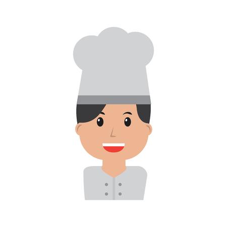 chef happy icon image vector illustration design