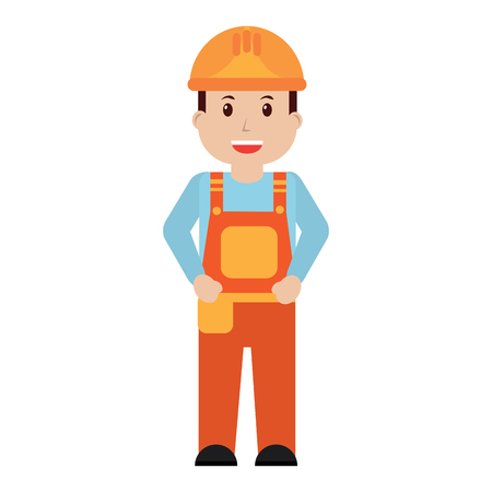Male worker image vector illustration design