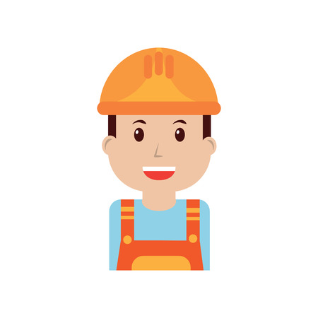 engineer or contractor icon image vector illustration design