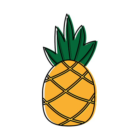 Ananas tropisch fruit