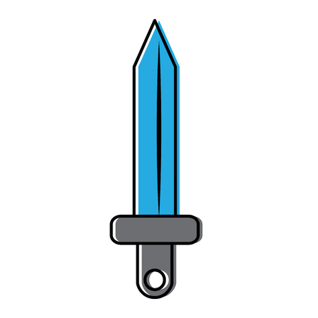 Sword icon. Illustration