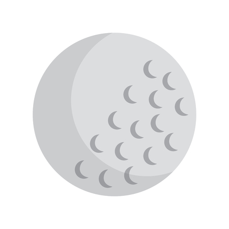Ball golf icon image vector illustration design Illustration