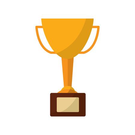 Trophy cup icon afbeelding vector illustratie ontwerp