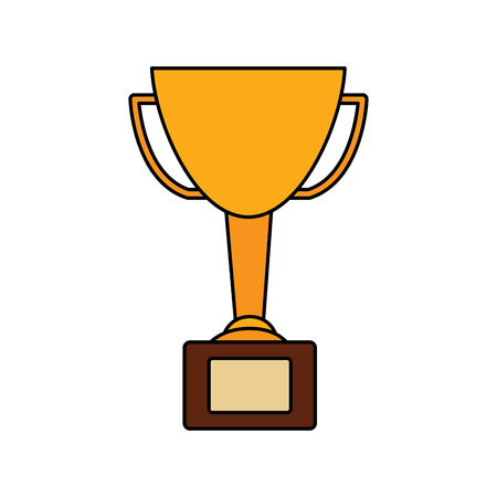 Trophy cup icon image vector illustration design Stock fotó - 92139473