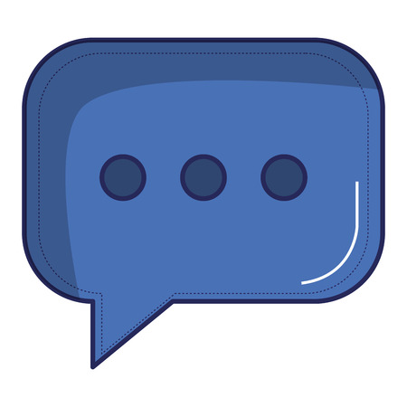 Speech bubble isolated icon  illustration design. 向量圖像