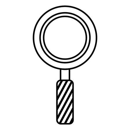 돋보기 격리 아이콘 그림 디자인입니다. 스톡 콘텐츠 - 92180793