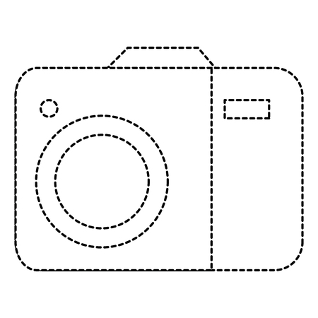 Camera isolated icon illustration design.
