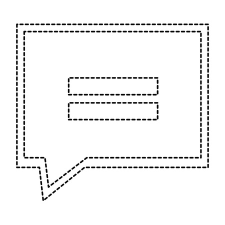Speech bubble isolated icon  illustration design. Ilustração
