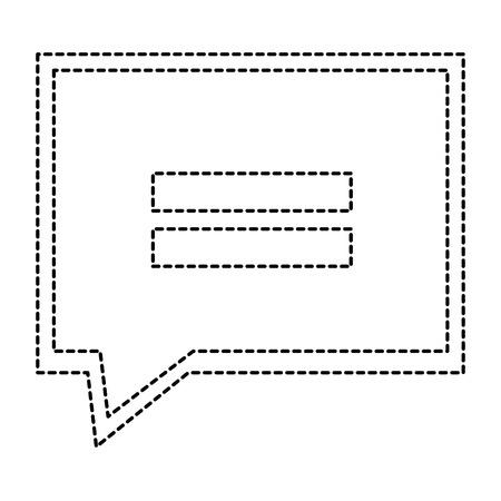 Speech bubble isolated icon  illustration design. Illustration