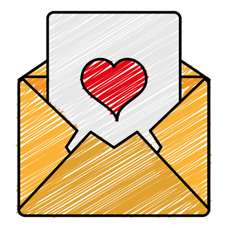 Mail envelope isolated icon illustration design. Ilustrace
