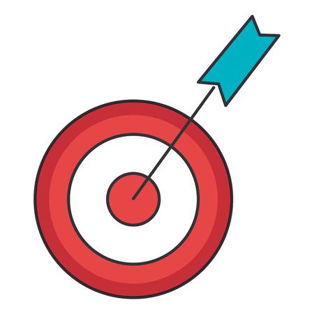 arrow of growth icon vector illustration design