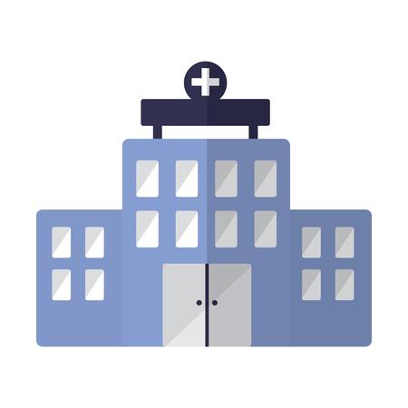 A hospital healthcare icon image vector illustration design Stock Vector - 92174269