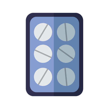 tablets healthcare icon image vector illustration design