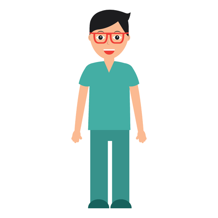 doctor healthcare icon image vector illustration design