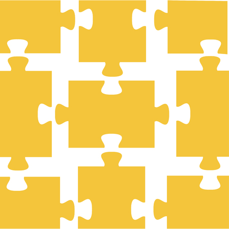 퍼즐 조각 패턴 배경 벡터 일러스트 레이 션 디자인