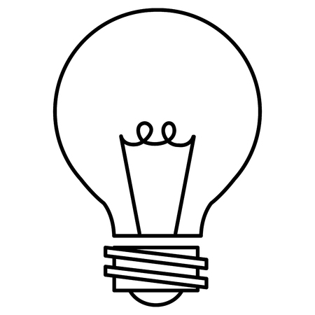 A bulb light isolated icon vector illustration design