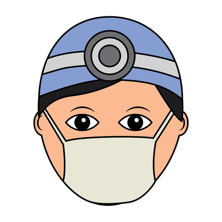 professional surgeon medical uniform clothes vector illustration Stock fotó - 92186125