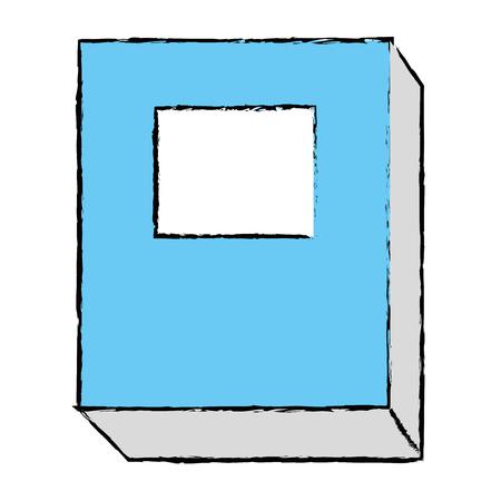 het pictogramontwerp van het handboek geïsoleerd pictogram Stock Illustratie