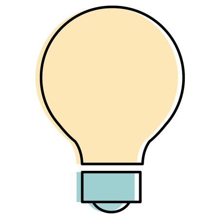 bulb light isolated icon vector illustration design Banco de Imagens - 92181425