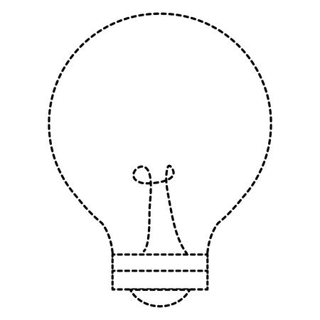 電球光絶縁アイコンベクトルイラストデザイン  イラスト・ベクター素材