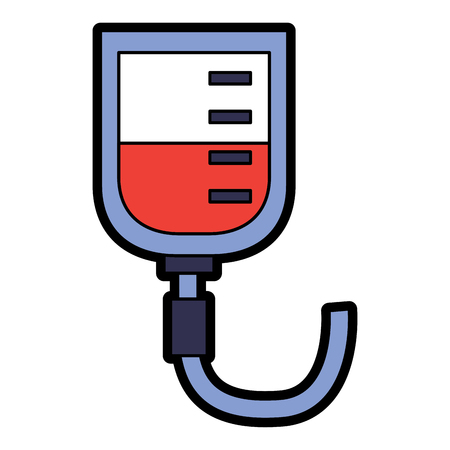 iv bag healthcare icon image vector illustration design Illusztráció
