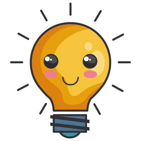 bulb light isolated icon vector illustration design Иллюстрация