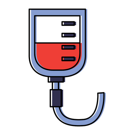 iv bag healthcare icon image vector illustration design