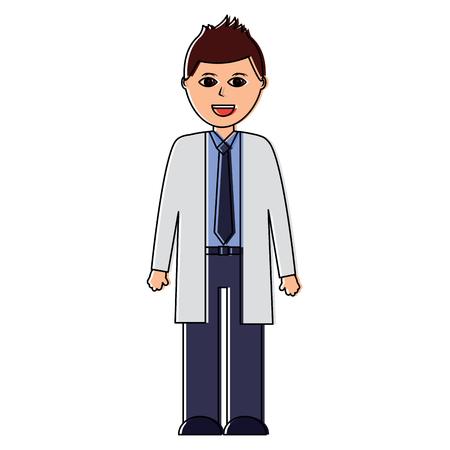 A doctor healthcare icon image vector illustration design Illustration