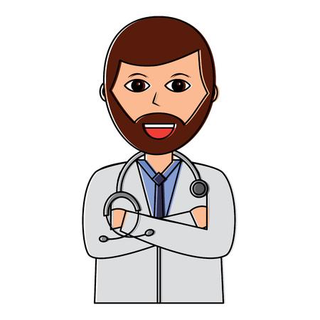 Doctor icon. Stock Vector - 92180067