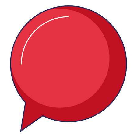 speech bubble isolated icon vector illustration design