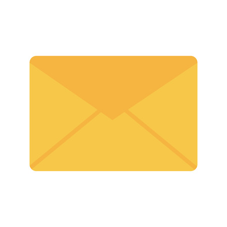 message envelope icon image vector illustration design  Ilustrace