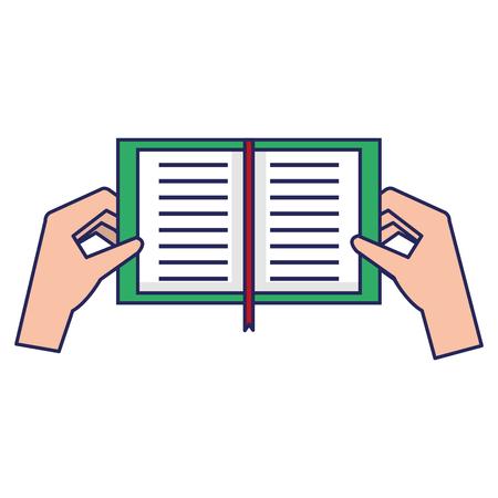 손에 들고 책 아이콘입니다.