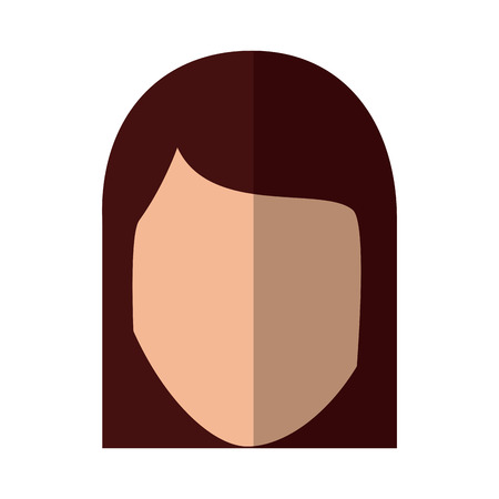 woman avatar icon image vector illustration design
