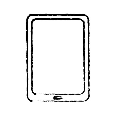 tablet computer technology device wireless vector illustration sketch image