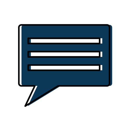 Ontwerp van de het pictogram het beeld vectorillustratie van het praatjegesprek.