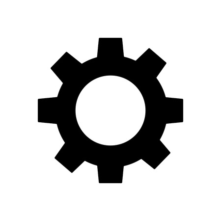technical gear setting technology icon vector illustration  pictogram image