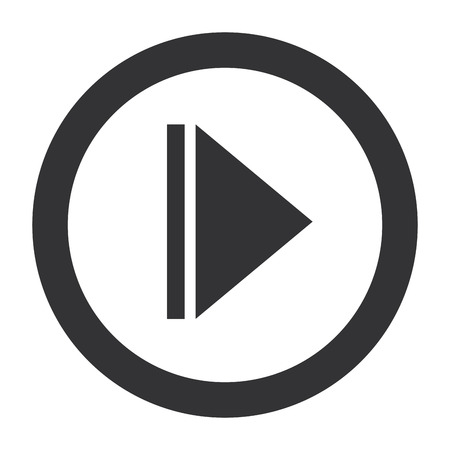 play button isolated icon vector illustration design Çizim