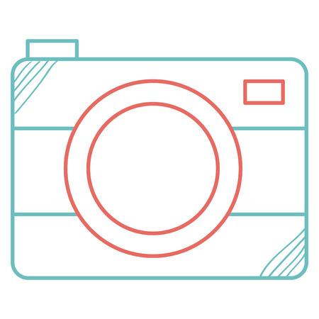 写真カメラ絶縁アイコンベクトルイラストデザイン