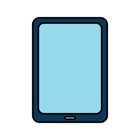 tablet computer technology device wireless vector illustration drawing